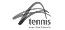 A tennis